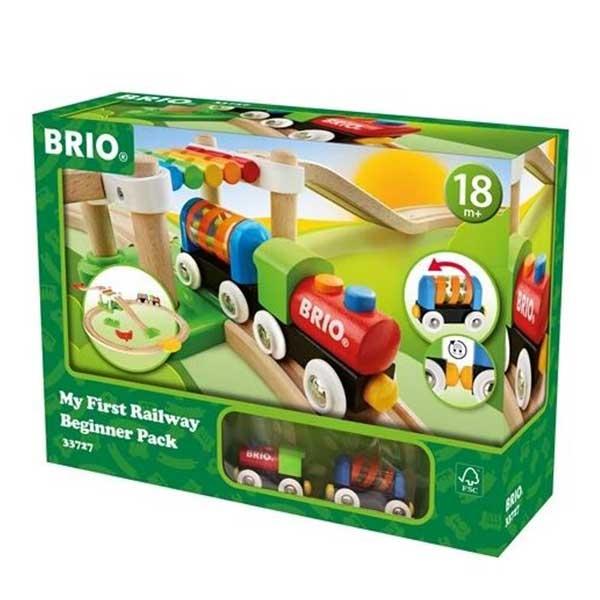 Moja prva pruga- set za početnike Brio BR33727 - ODDO igračke