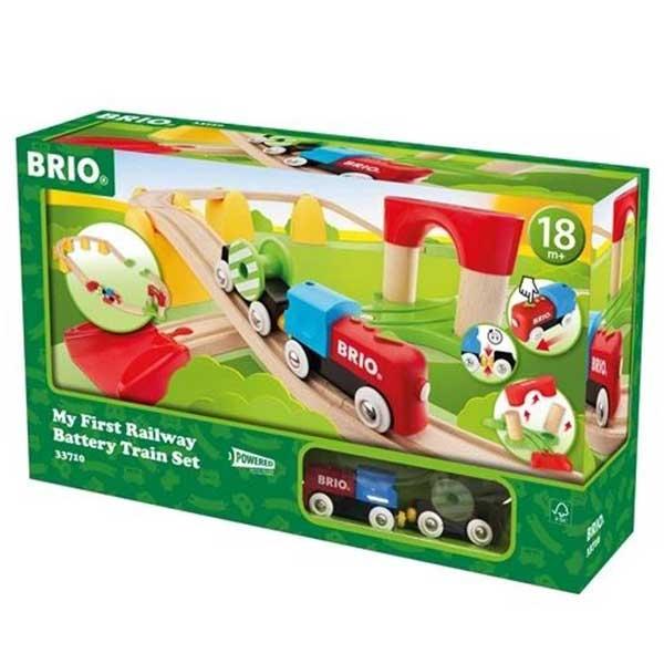 Moj prvi set vozova Brio BR33710 - ODDO igračke