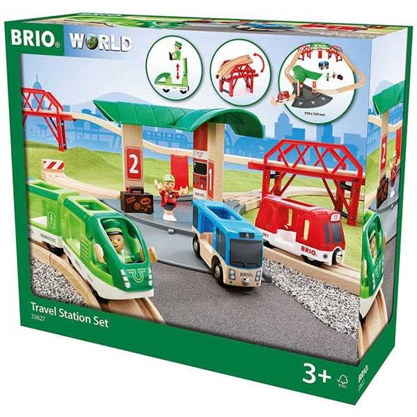 Železnička stanica Brio BR33627 - ODDO igračke