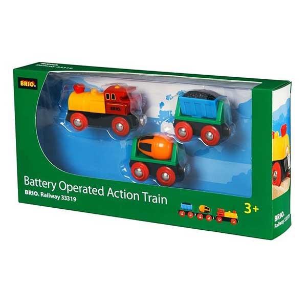 Lokomotiva na baterije Brio BR33319 - ODDO igračke