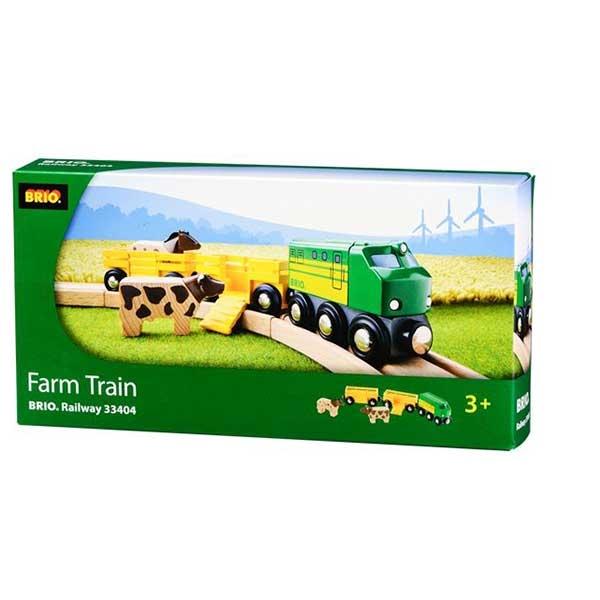 Poljoprivredni voz sa 2 vagona Brio BR33404 - ODDO igračke