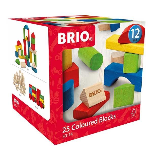 Set kocki u boji 25 komada Brio BR30114 - ODDO igračke