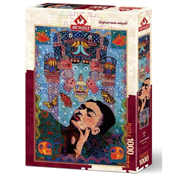 Art puzzle Frida - ALFREDO ARREGUIN 1000pcs  - ODDO igračke