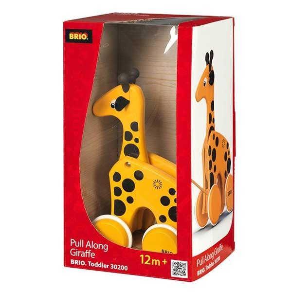 Žirafa na potez Brio BR30200 - ODDO igračke
