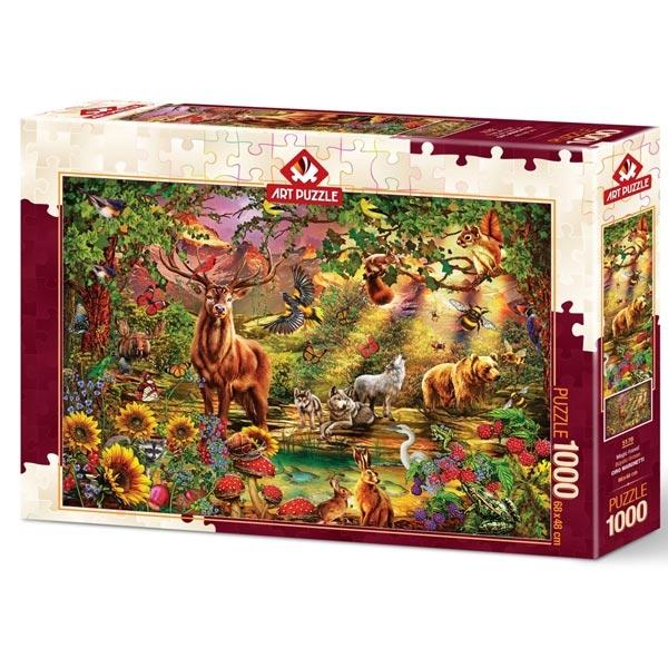 Art puzzle Enchanted Forest 1000pcs - ODDO igračke