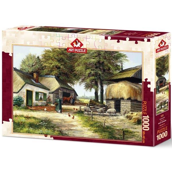 Art puzzle Farm House 1000pcs - ODDO igračke