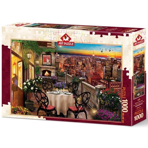 Art puzzle Dinner in New York 1000pcs - ODDO igračke