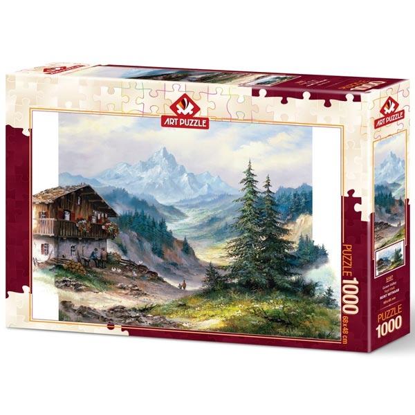 Art puzzle Green Valley 1000pcs - ODDO igračke