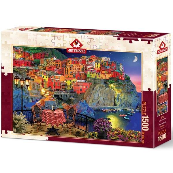 Art puzzle Cinque Terre - Italy 1500 pcs - ODDO igračke