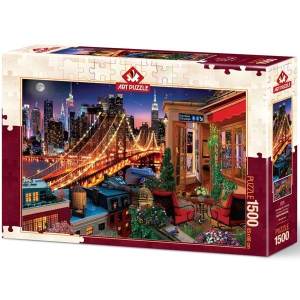 Art puzzle Terrace Brooklyn 1500 pcs - ODDO igračke