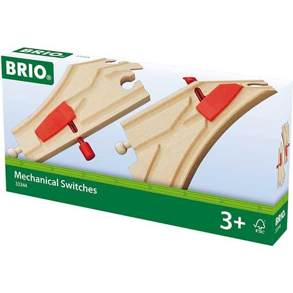Delovi za prugu - mehanički prekidači Brio BR33344 - ODDO igračke