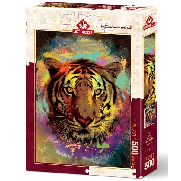 Art puzzle Tiger 500 pcs - ODDO igračke