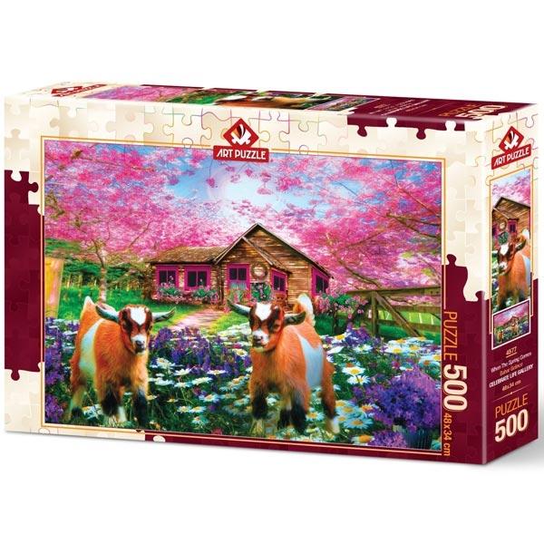 Art puzzle When Spring Comes 500 pcs - ODDO igračke