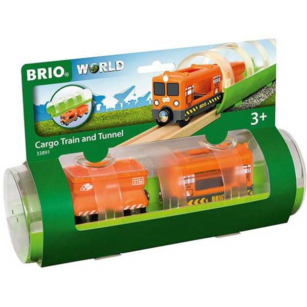 Tunel i teretni voz Brio BR33891 - ODDO igračke