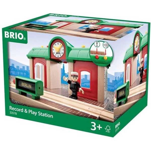 Železnička stanica Brio BR33578 - ODDO igračke