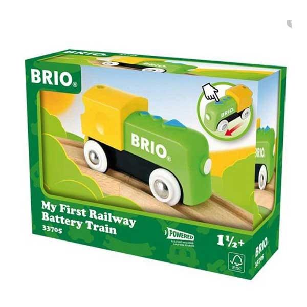 Moj prvi voz na baterije Brio BR33705 - ODDO igračke