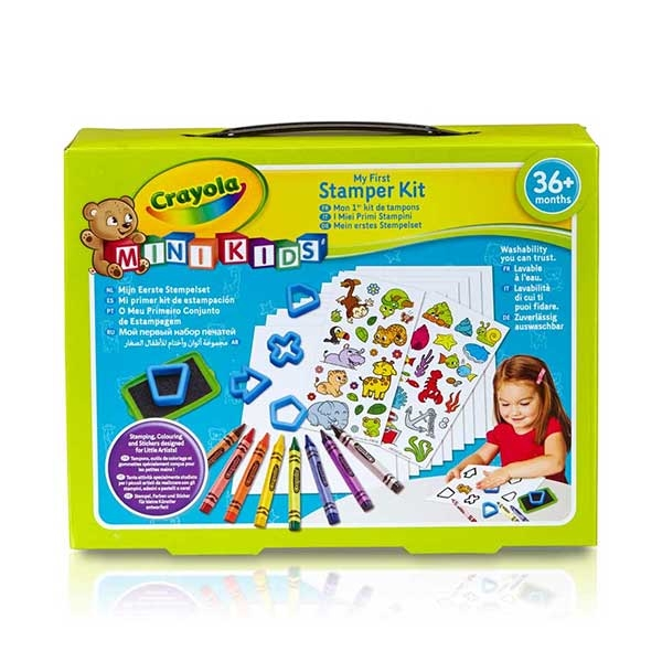 Crayola mini set sa pečatima GA256398 - ODDO igračke