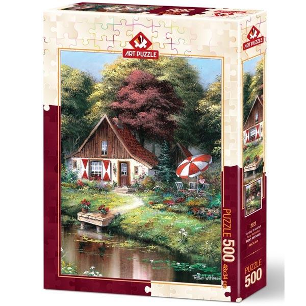 Art puzzle Sunday Breakfast 500 pcs - ODDO igračke