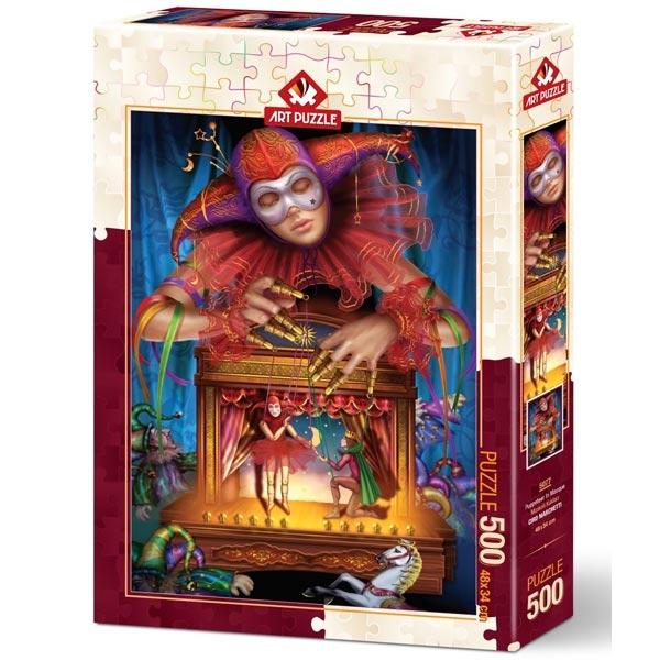 Art puzzle Masked Puppeteer 500 pcs - ODDO igračke