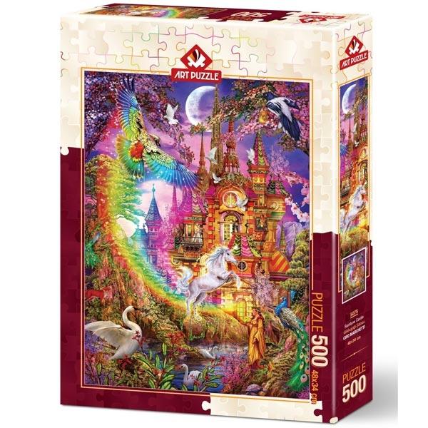 Art puzzle Rainbow Castle 500 pcs - ODDO igračke