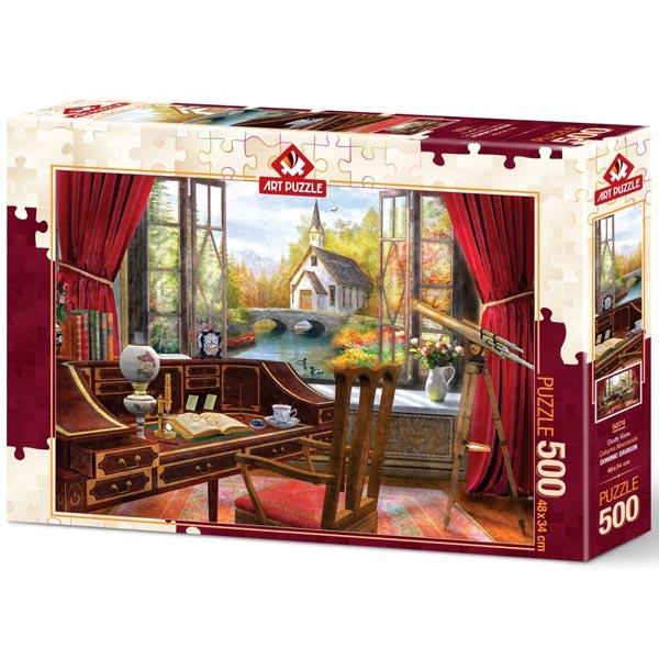 Art puzzle Work Landscape 500 pcs - ODDO igračke