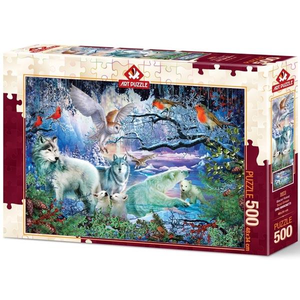Art puzzle Glacier Forest 500 pcs - ODDO igračke