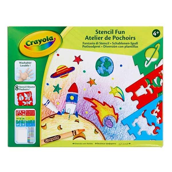 Crayola stencil fun set GA256276 - ODDO igračke