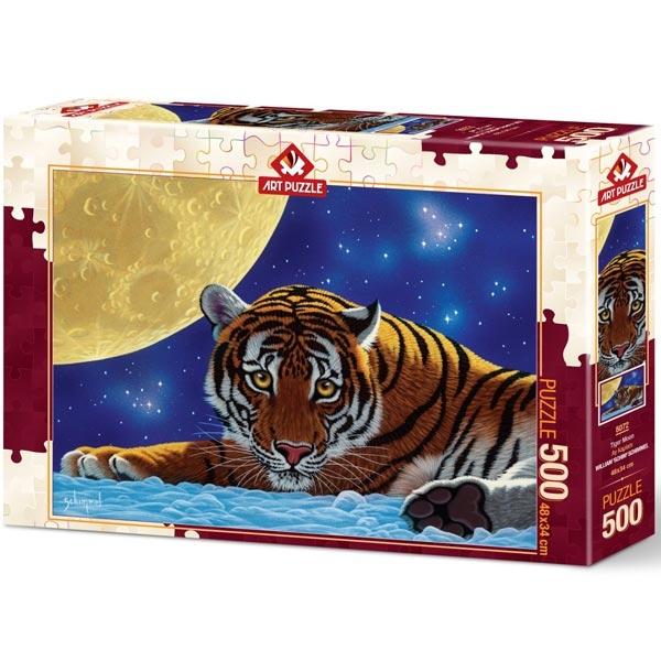 Art puzzle Moon Tiger 500 pcs - ODDO igračke