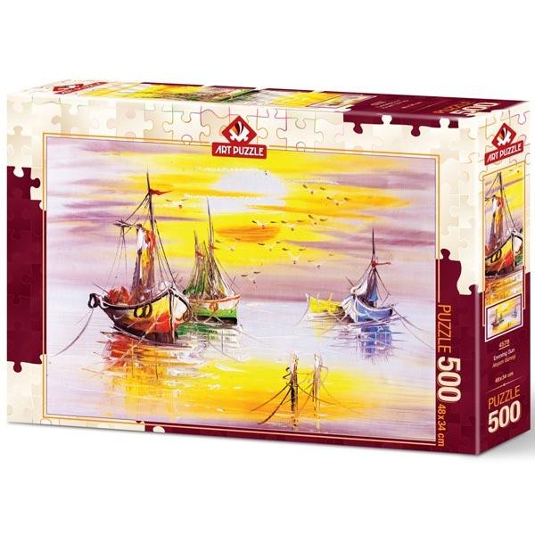 Art puzzle Evening Sun 500 pcs - ODDO igračke