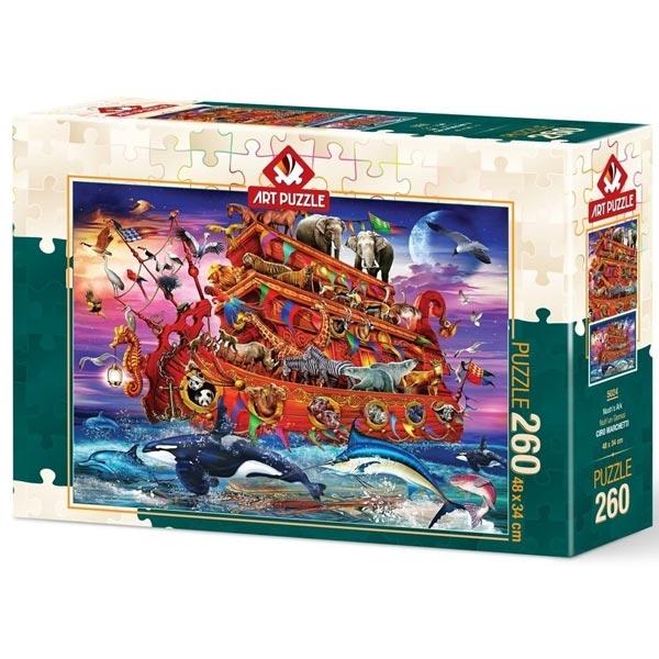 Art puzzle Noahs Ark 260 pcs - ODDO igračke