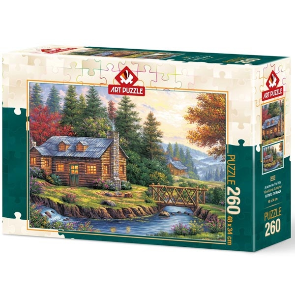 Art puzzle Autumn on the Hills 260 pcs - ODDO igračke