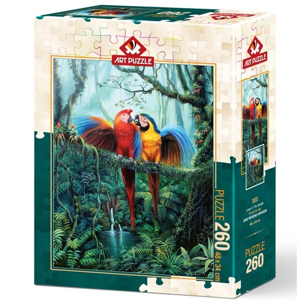 Art puzzle Love in the Forest 260 pcs - ODDO igračke