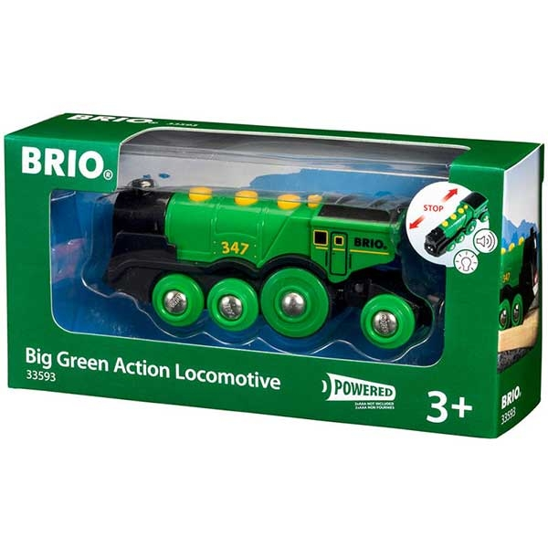 Big Green Action Locomotive Brio BR33593 - ODDO igračke