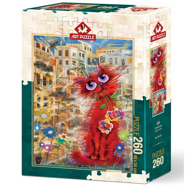 Art puzzle Red Cat 260 pcs - ODDO igračke
