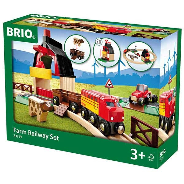 Set vozova Farma Brio BR33719 - ODDO igračke