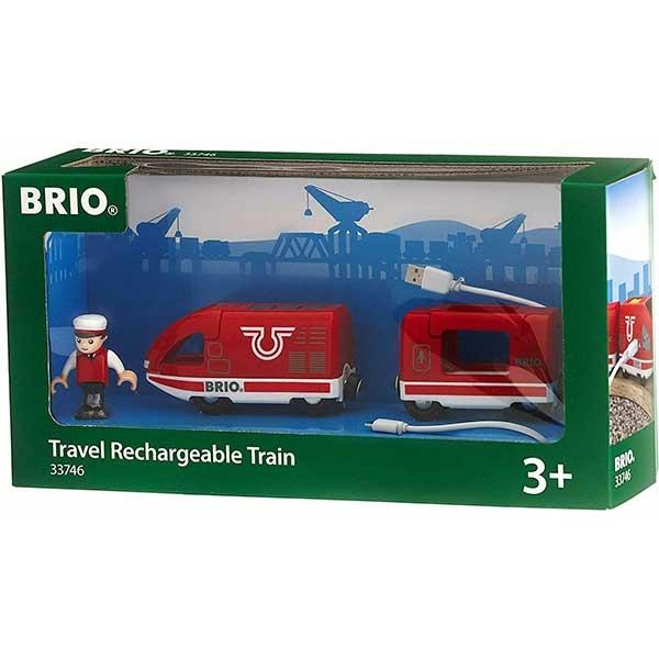 Putnički voz na punjenje Brio BR33746 - ODDO igračke