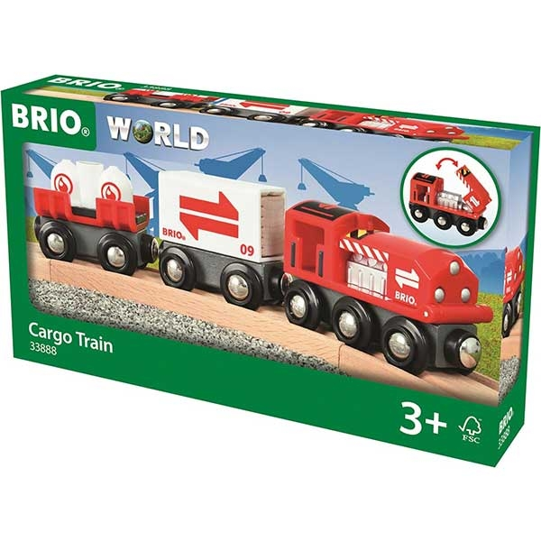 Teretni voz Brio BR33888 - ODDO igračke