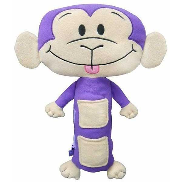 Pliš Majmun igračka za sigurnosni pojas 84295 - ODDO igračke