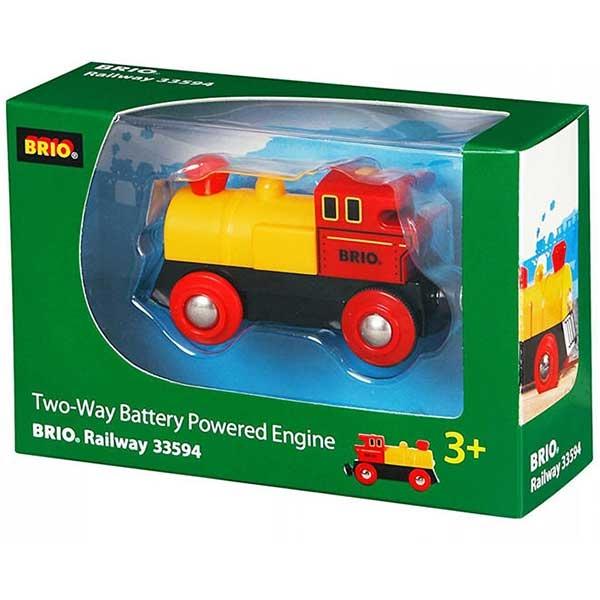 Dvostarna lokomotiva na baterije Brio BR33594 - ODDO igračke