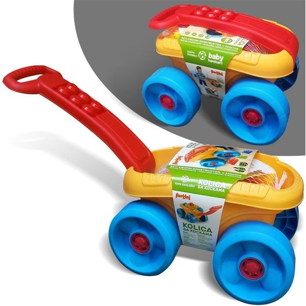 Kolica sa kockama P-0392 - ODDO igračke