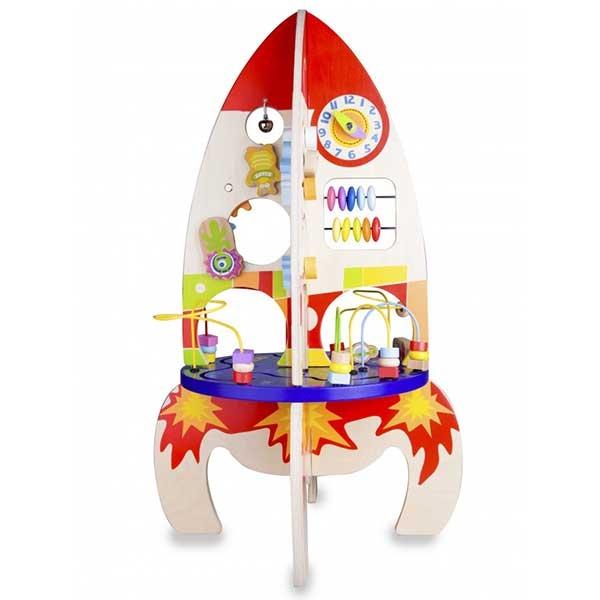 Montesori igračka raketa 22012 - ODDO igračke