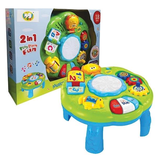 Interaktivni Bebi muzički aktiviti stočić 088482 - ODDO igračke