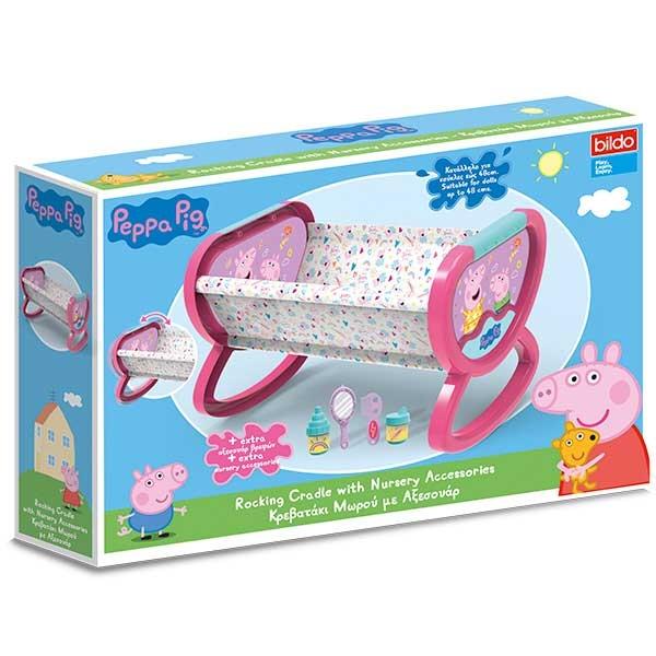 Pepa Prase kolevka za lutke BILDO 8147 - ODDO igračke