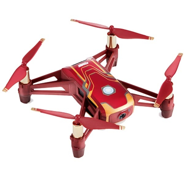 Dron Tello Iron Man Edition RYZE Tech CP.TL.00000002.01 - ODDO igračke