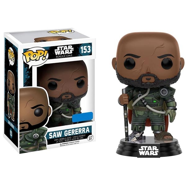 Funko Star Wars Rogue One POP Vinyl - Saw Gererra 036845 - ODDO igračke