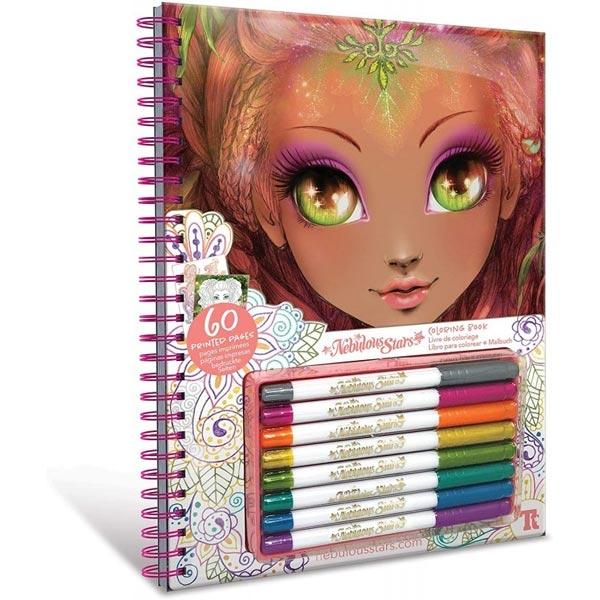 Nebulous Stars Coloring Book Bojanka Beli listovi 11112 - ODDO igračke
