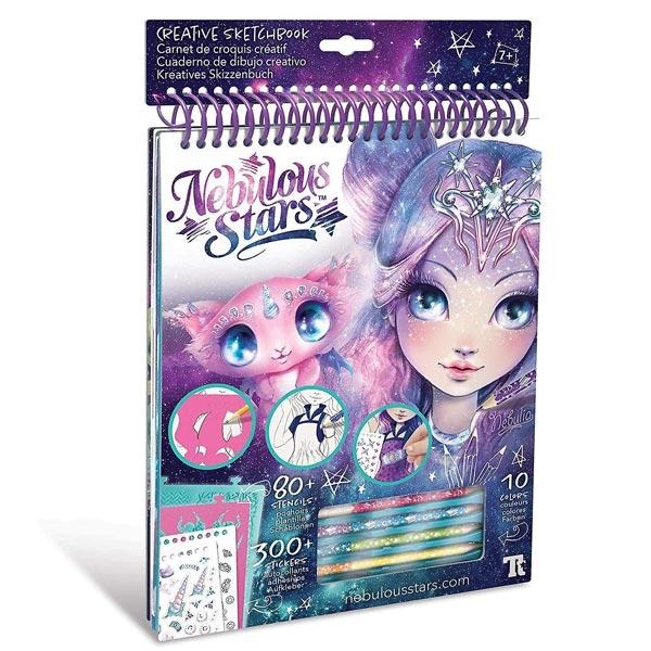 Nebulous Stars Creative Sketchbook Kreativni Blok za crtanje Nebulia 11101 - ODDO igračke
