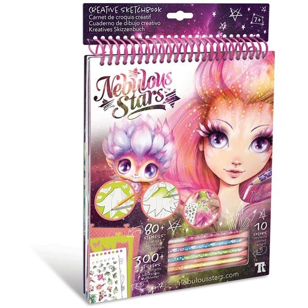 Nebulous Stars Creative Sketchbook Kreativni Blok za crtanje Petulia 11103 - ODDO igračke
