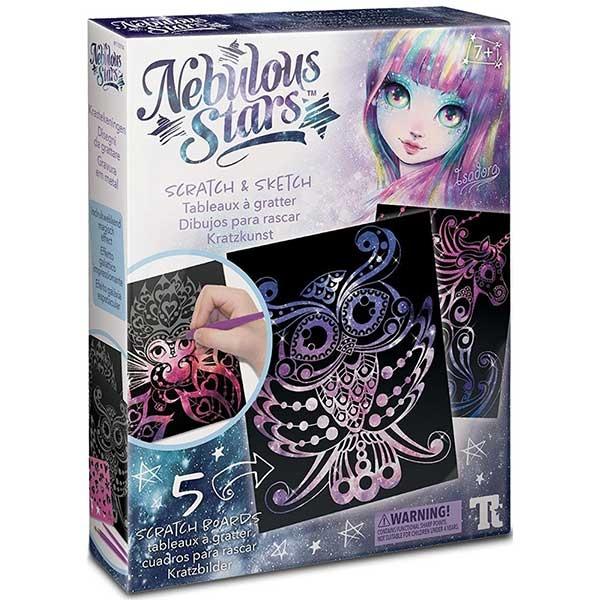Nebulous Stars Scratch & Sketch Ogrebi i napravi - Kreativni set 11014 - ODDO igračke
