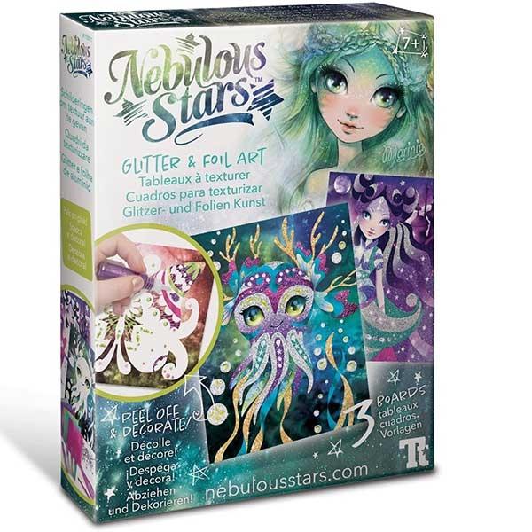 Nebulous Stars Glitter & Foil Art - Kreativni set 11011 - ODDO igračke